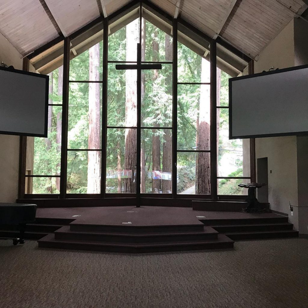 worship center stage